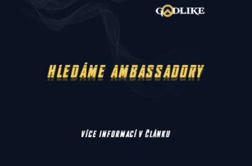 Hledáme ambassadory | GODLIKE