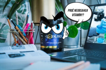 Proč nejsou v Godlike vitamíny? | GODLIKE